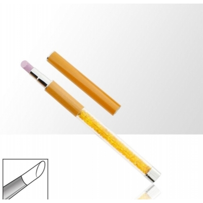 Silicone nailart penseel