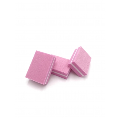 Polijstblok mini roze 100|180