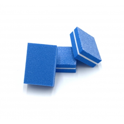 Polijstblok mini blauw 100|180